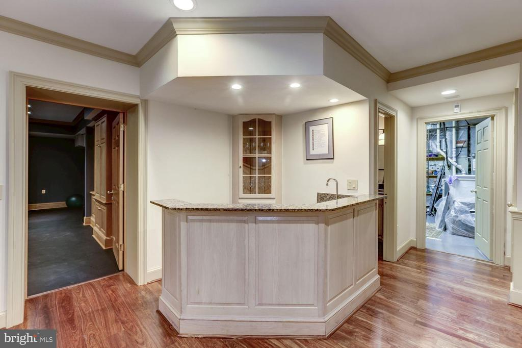 Wet Bar - 7709 CARLTON PL, MCLEAN