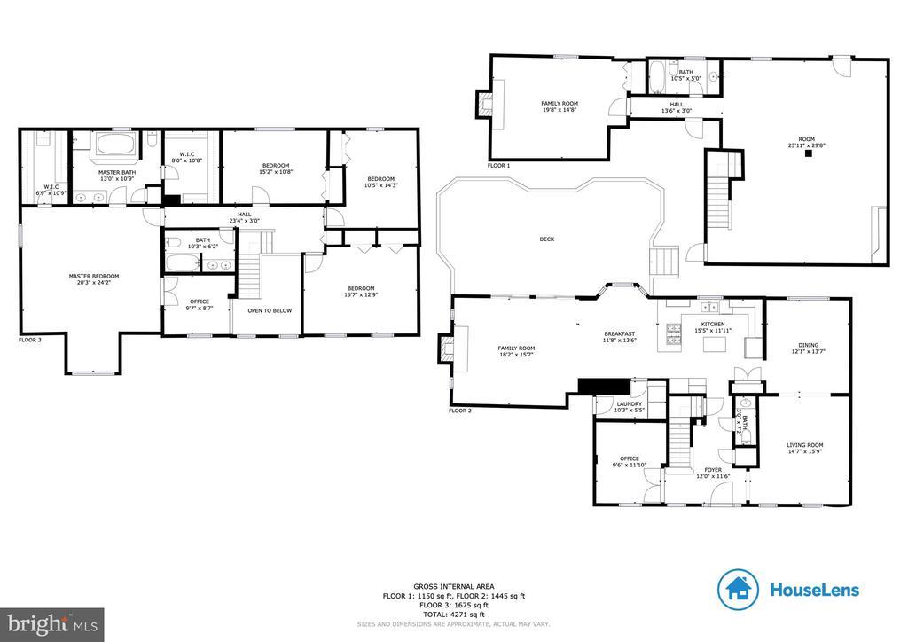 Estimated floor plans - 12904 CHALKSTONE CT, FAIRFAX