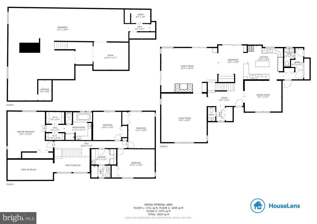 Estimated Floor Plans - 11220 HANDLEBAR RD, RESTON