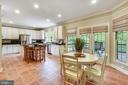Enormous Gourmet Kitchen with SS Appliances - 6846 CREEK CREST WAY, SPRINGFIELD
