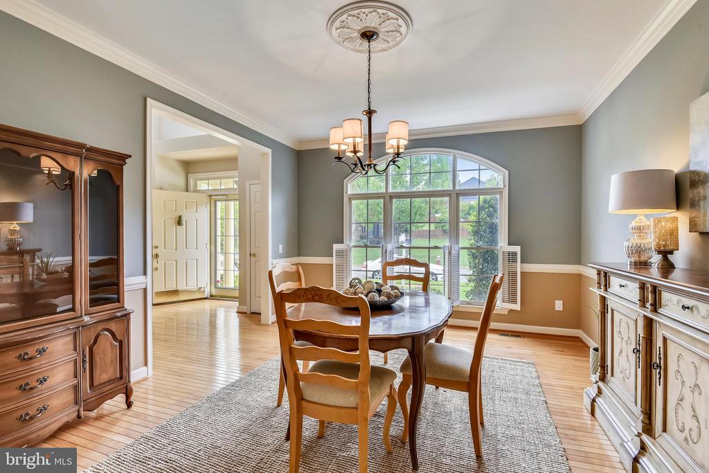 Formal Dining Room is Freshly Painted! - 6846 CREEK CREST WAY, SPRINGFIELD