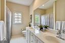 Main Bath Upstairs has dual vanities! - 6846 CREEK CREST WAY, SPRINGFIELD