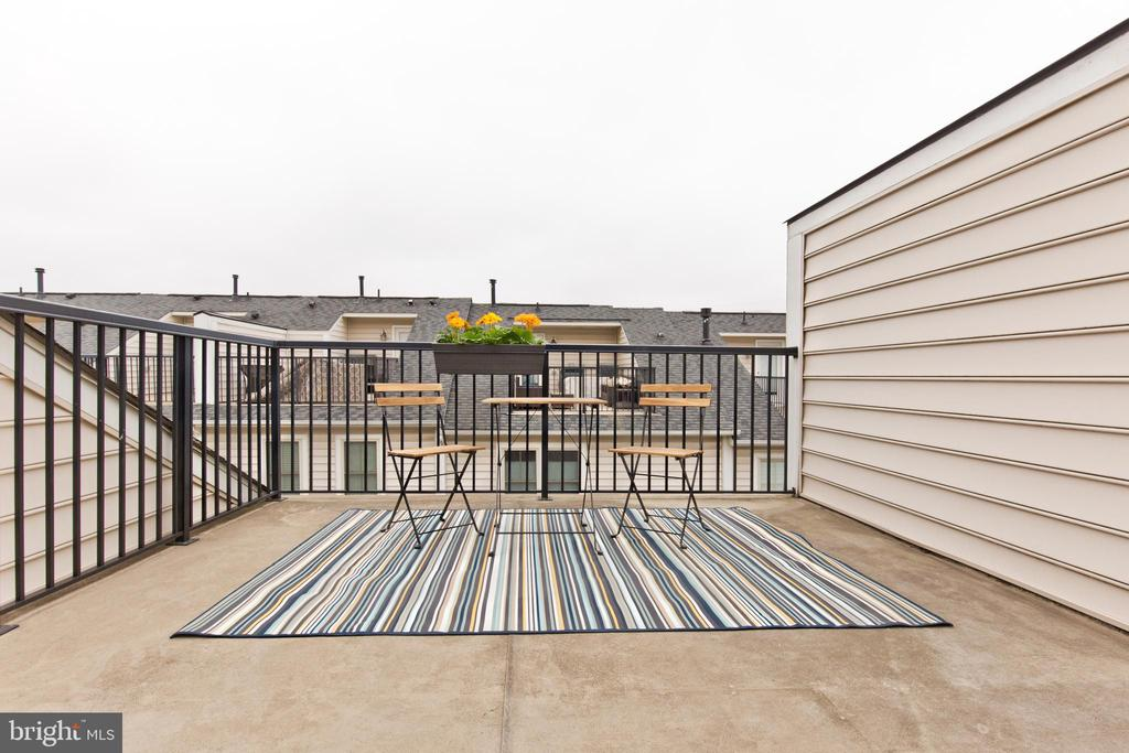 Amazing views of the Rooftop deck - 2624 S KENMORE, ARLINGTON