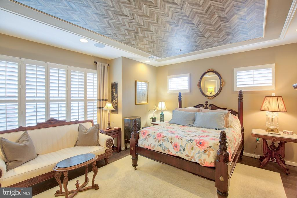 Designer ceiling features - 235 CRESCENT STATION TER SE, LEESBURG
