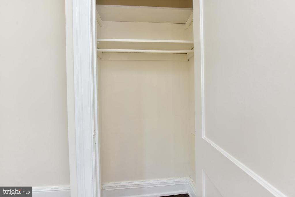Second closet in bedroom! - 3600 CONNECTICUT AVE NW #306, WASHINGTON