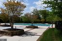 One of 3 Well Landscaped Community Pools - 24436 PERMIAN CIR, ALDIE
