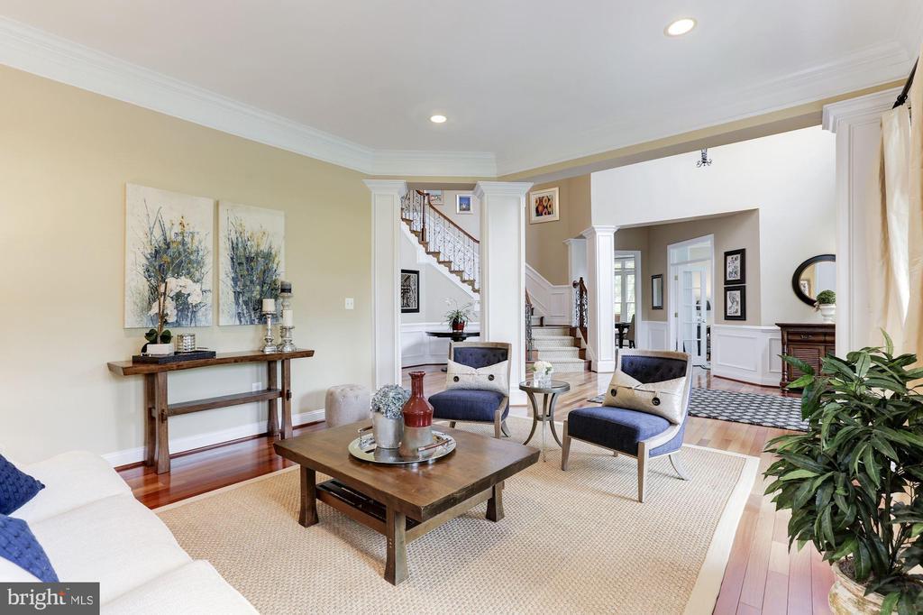 Living Room Open to Foyer - 19060 AMUR CT, LEESBURG