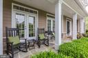 Relaxing Front Porch w/ Doors into the Living Room - 19060 AMUR CT, LEESBURG