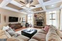 Coffered Ceiling - 19060 AMUR CT, LEESBURG