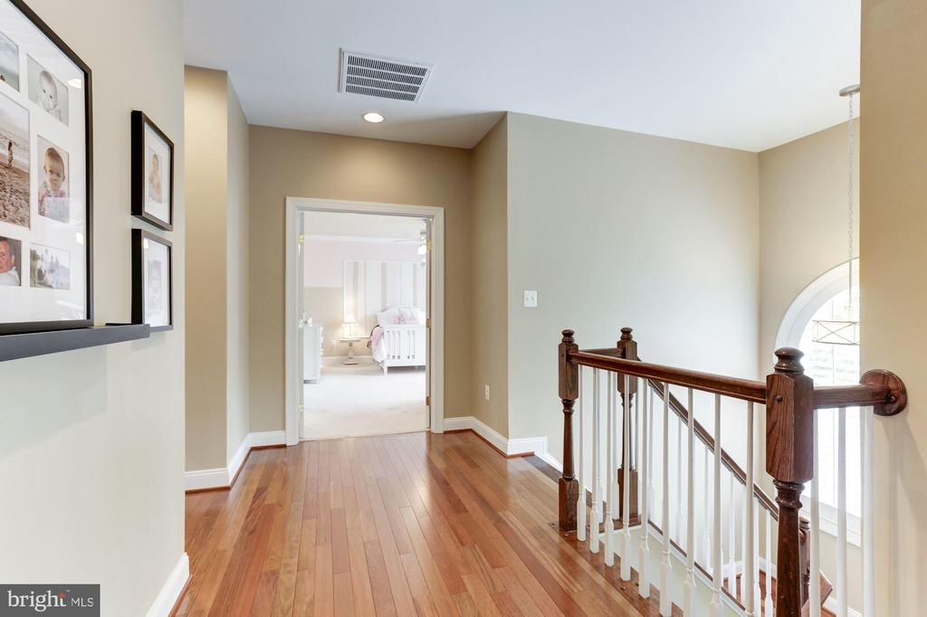Upper Hall with New Brazilian Cherry - 19060 AMUR CT, LEESBURG