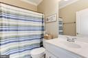 Bedroom 4 Bath - 19060 AMUR CT, LEESBURG