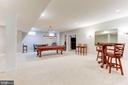 Recreation Room - 19060 AMUR CT, LEESBURG