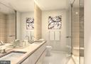 Elegant Grohe Fixtures & Frameless Glass Shower - 810 O ST NW #208, WASHINGTON