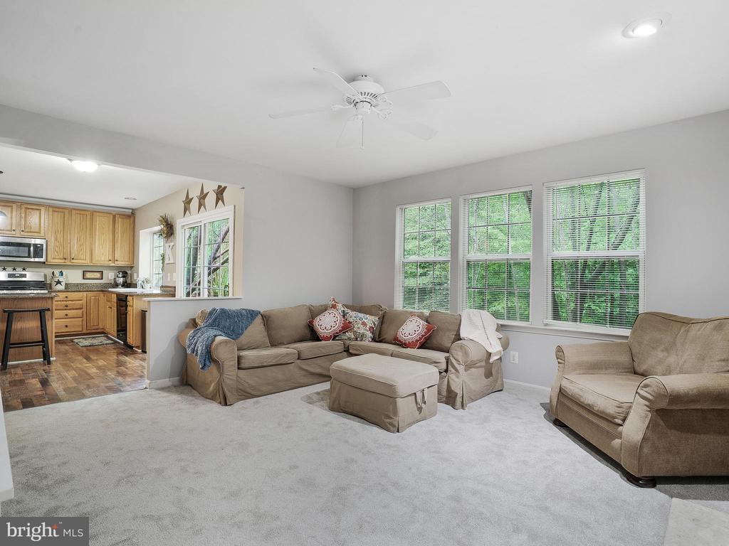 Family Room - 5947 HARVEST SUN RD, WOODBRIDGE