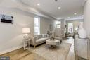 Family room area off kitchen - 1508 CAROLINE ST NW, WASHINGTON
