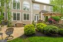 Lower Patio w/Dedicated Power for Hot Tub - 42841 SANDHURST CT, BROADLANDS