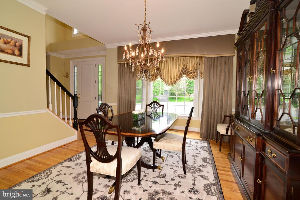 Formal dining room with sunny bay window. - 2403 SAGARMAL CT, DUNN LORING