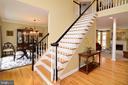 Dramatic 2-story foyer with grand staircase. - 2403 SAGARMAL CT, DUNN LORING