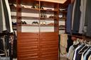 Second custom owner's suite walk-in closet. - 2403 SAGARMAL CT, DUNN LORING