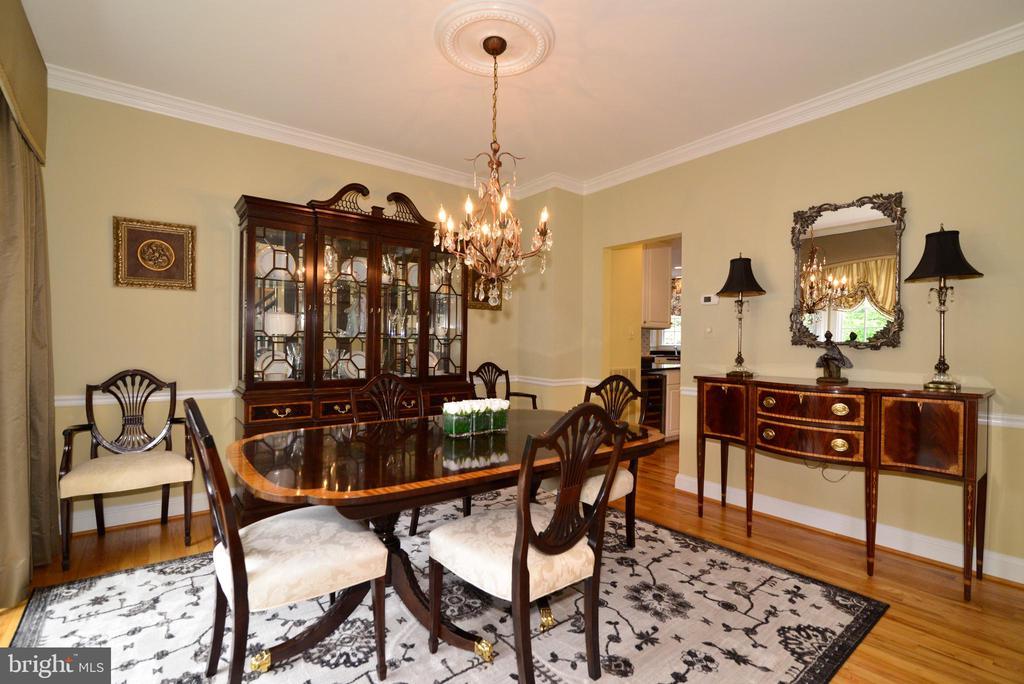 Spacious formal dining room. - 2403 SAGARMAL CT, DUNN LORING