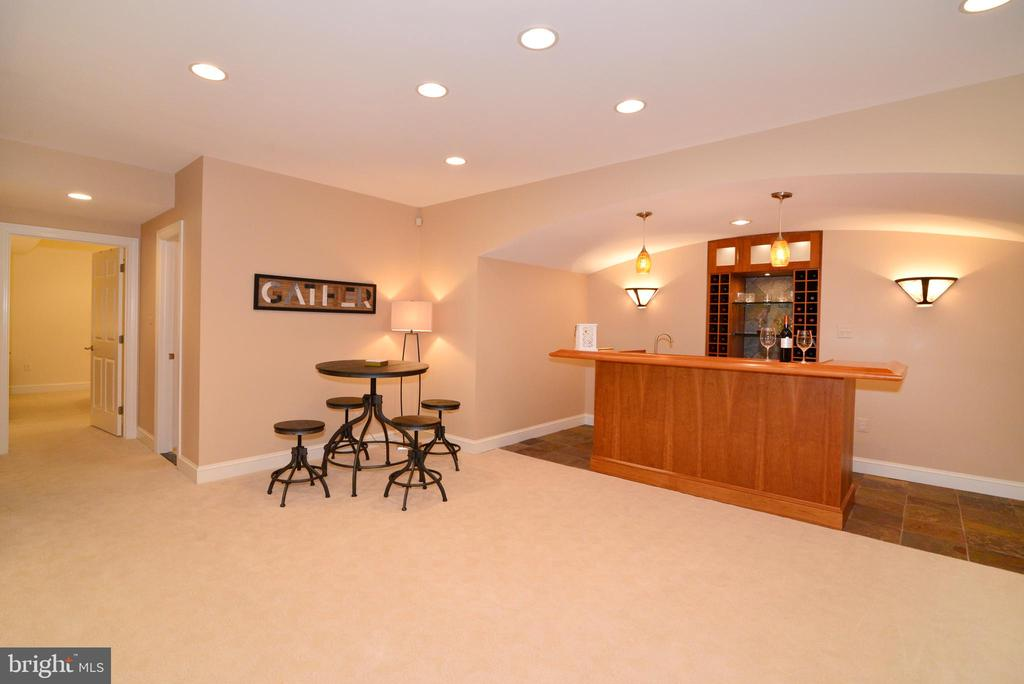 Lower level party room. - 2403 SAGARMAL CT, DUNN LORING