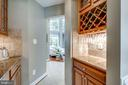 Serving Guests is easy from this Butler's Pantry - 42841 SANDHURST CT, BROADLANDS