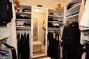 Extension of custom owner's suite walk-in closet. - 2403 SAGARMAL CT, DUNN LORING