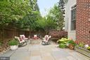 View of fire pit seating area. - 2403 SAGARMAL CT, DUNN LORING