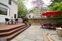 Pennsylvania Bluestone flagstone patio, IPE deck. - 2403 SAGARMAL CT, DUNN LORING
