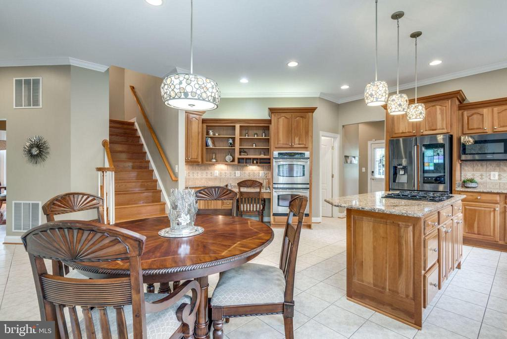 Rear Staircase from Kitchen to Upper Level - 42841 SANDHURST CT, BROADLANDS