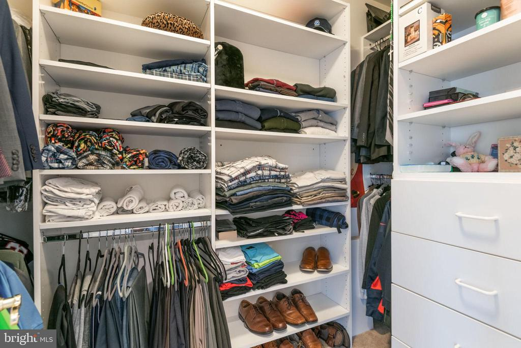 One of the Master Closets w/built in Closet System - 42841 SANDHURST CT, BROADLANDS