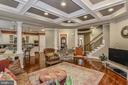 Family Room w/ Loads of Architectural Details - 8421 FALCONE POINTE WAY, VIENNA