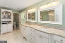 Master Luxury Renovated Full Bath - 8512 CATHEDRAL FOREST DR, FAIRFAX STATION