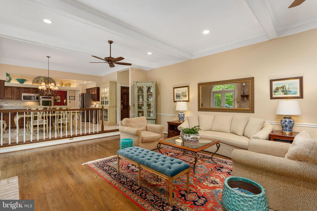 Family Room - 8512 CATHEDRAL FOREST DR, FAIRFAX STATION