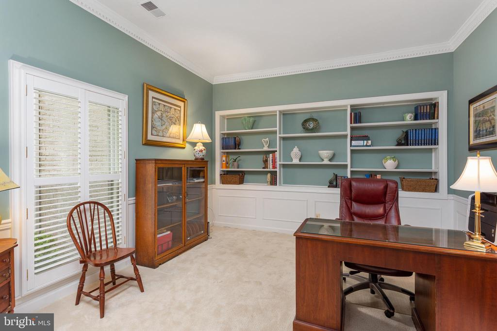 Main Level Study - 8512 CATHEDRAL FOREST DR, FAIRFAX STATION