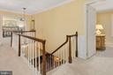 Upper Level Hall - 8512 CATHEDRAL FOREST DR, FAIRFAX STATION