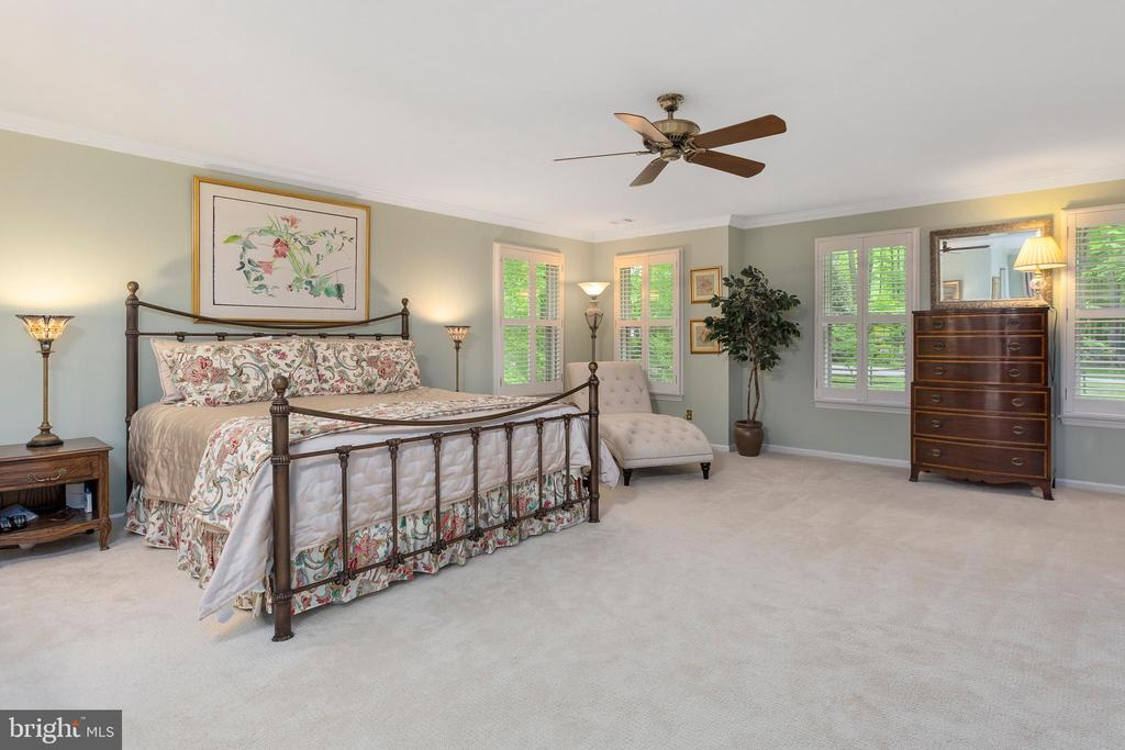 Grand-size Master Bedroom - 8512 CATHEDRAL FOREST DR, FAIRFAX STATION