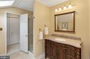 Jack N Jill Full Bath - 8512 CATHEDRAL FOREST DR, FAIRFAX STATION