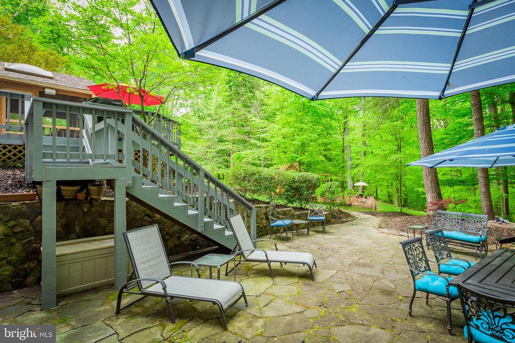 Open Patio - 8512 CATHEDRAL FOREST DR, FAIRFAX STATION