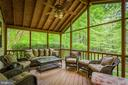 Screened-in Porch - 8512 CATHEDRAL FOREST DR, FAIRFAX STATION