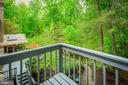 Balcony off Master Bedroom - 8512 CATHEDRAL FOREST DR, FAIRFAX STATION