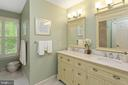 Upper Hall Full Bath - 8512 CATHEDRAL FOREST DR, FAIRFAX STATION