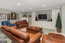 Recreation Room - Entertainment - 8512 CATHEDRAL FOREST DR, FAIRFAX STATION
