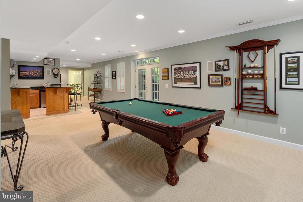 Game Room - 8512 CATHEDRAL FOREST DR, FAIRFAX STATION