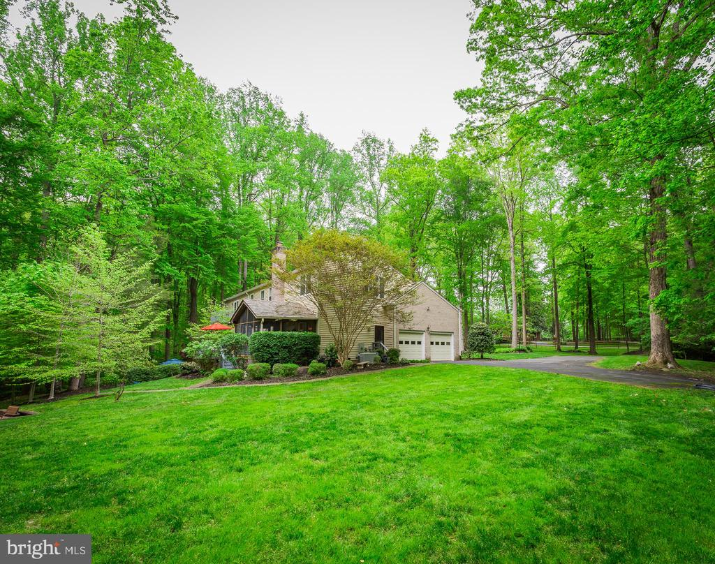 Backyard View - 8512 CATHEDRAL FOREST DR, FAIRFAX STATION