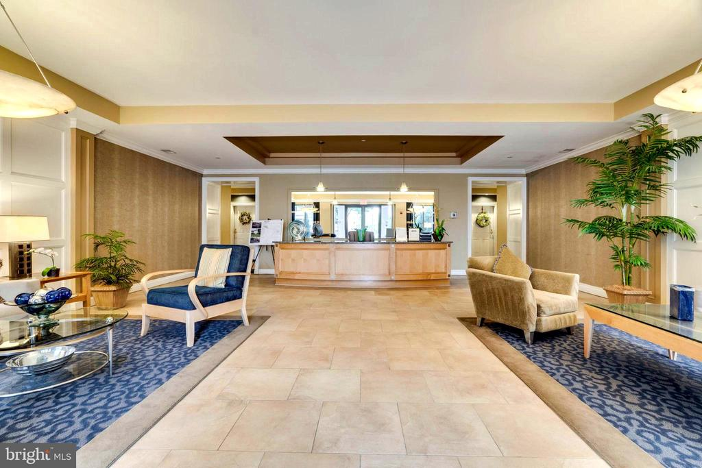 Beautiful, Gracious and Quiet Front Lobby! - 440 BELMONT BAY DR #401, WOODBRIDGE