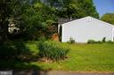 Large side yard - 5903 VERNONS OAK CT, BURKE