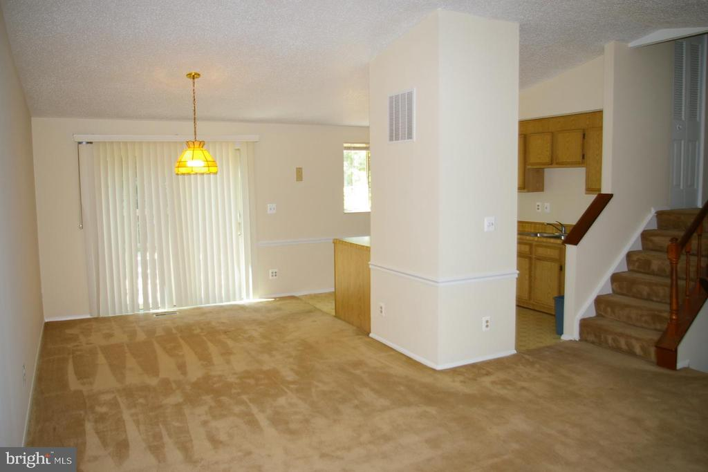 Looking at the Dining Room from the Living Room - 5903 VERNONS OAK CT, BURKE