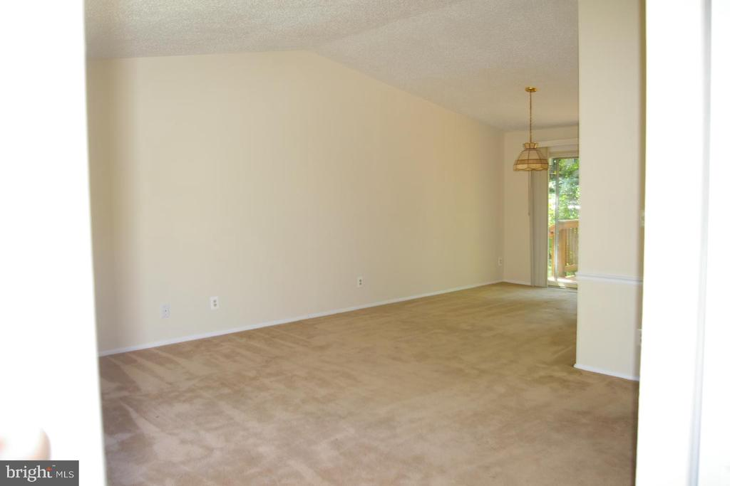Open floor plan--Living Room and Dining Room - 5903 VERNONS OAK CT, BURKE