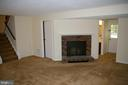 Family Room on Lower Level with walk-up to yard - 5903 VERNONS OAK CT, BURKE